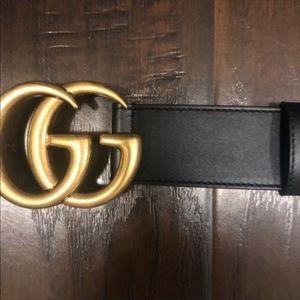 GOLD GG MARMONT BELT